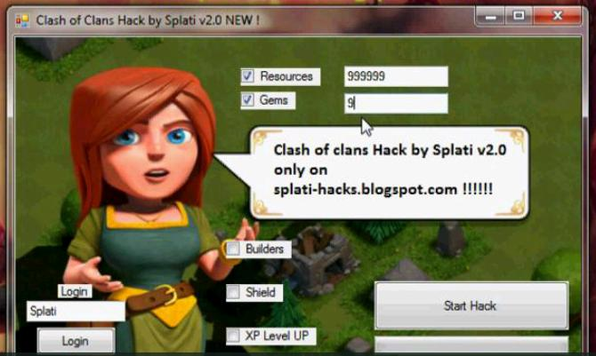 Clash Of Clans Hack Tool 2013 Free Download