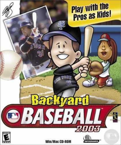 backyard baseball 2003 pc game baseball 543 59 mb