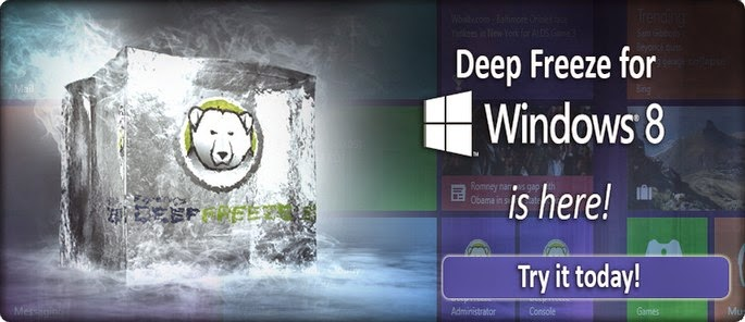 Download Deep Freeze Standard Edition 7.8.1 Final + for windows 8