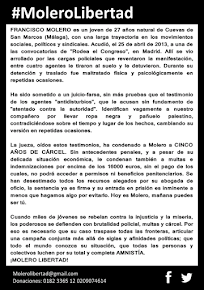 Amnistía Fran Molero