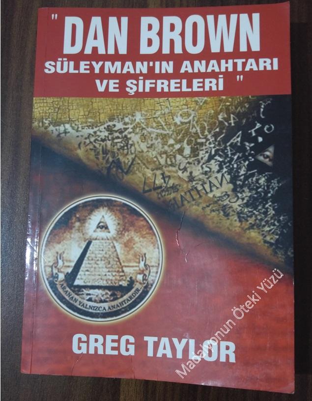 Süleyman'ın Anahtarı ve Şifreleri - Greg Taylor