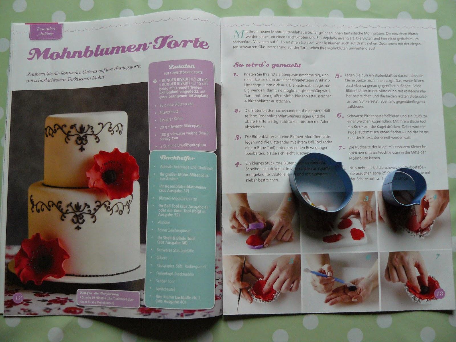 Torten Dekorieren Zeitschrift jule backt rezension zeitschrift torten dekorieren und