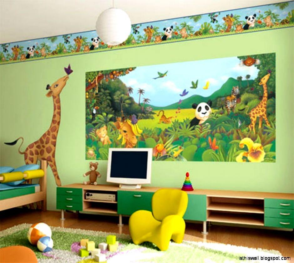 Kids Bedroom Wallpapers Children Bedroom Wallpaper This Wallpapers