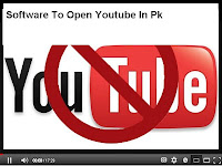 Software that run youtube in pakistan