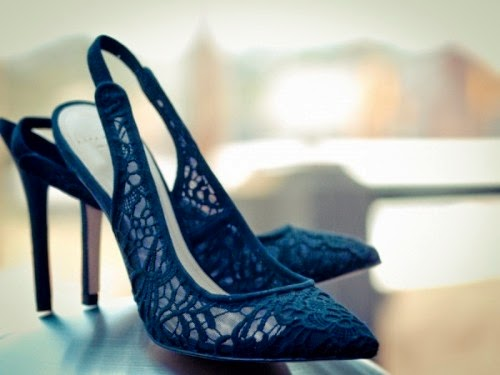 midnight blue bridal shoes