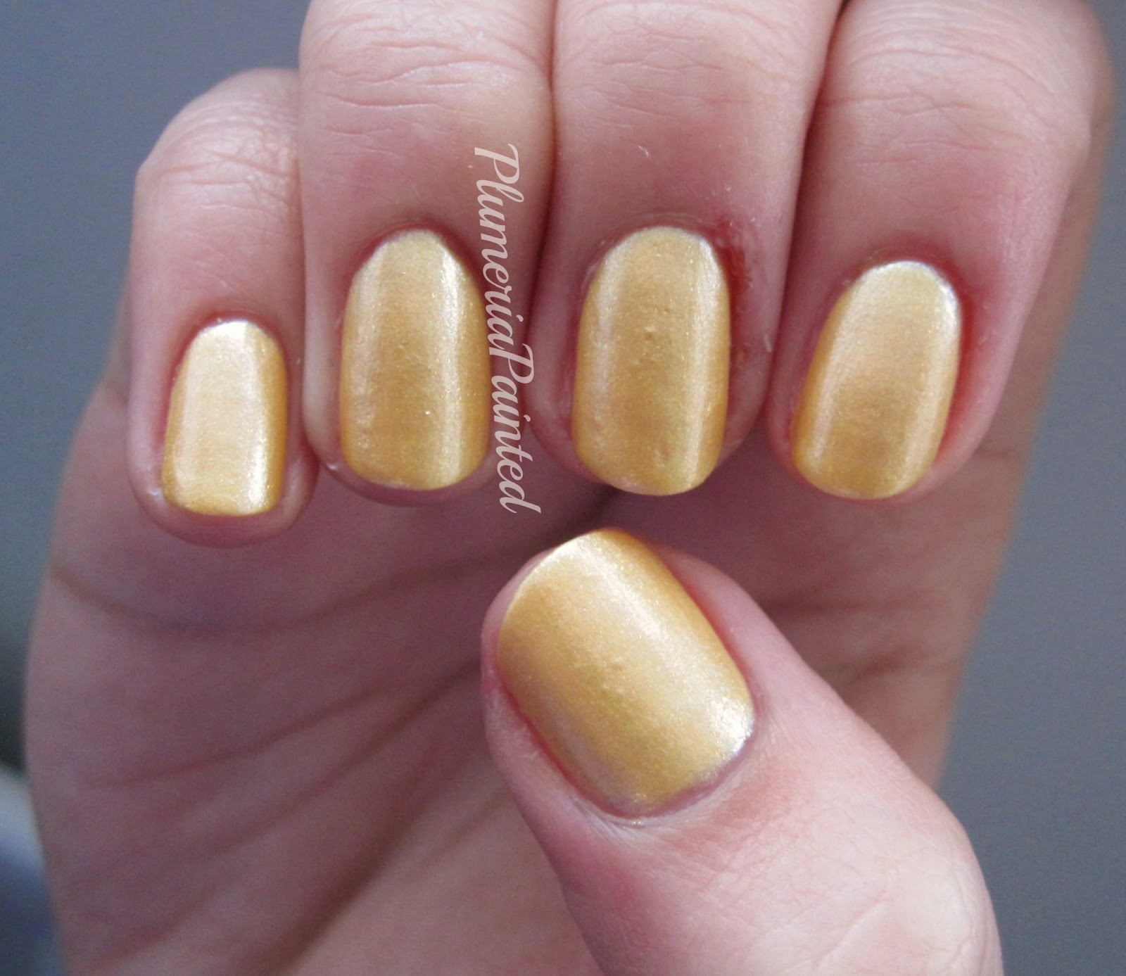 PlumeriaPainted: Yellow Nails: M&S - Maize