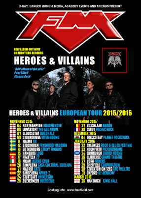 FM European Tour 2015/2016 live dates poster