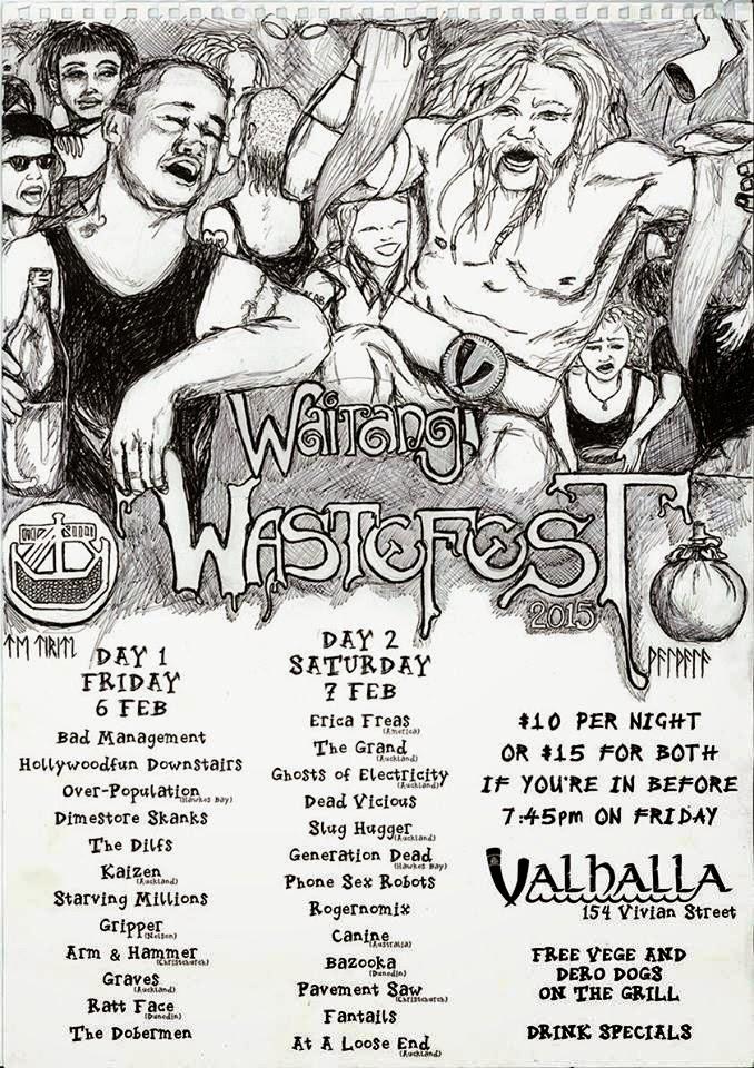Waitangi Waste 2015