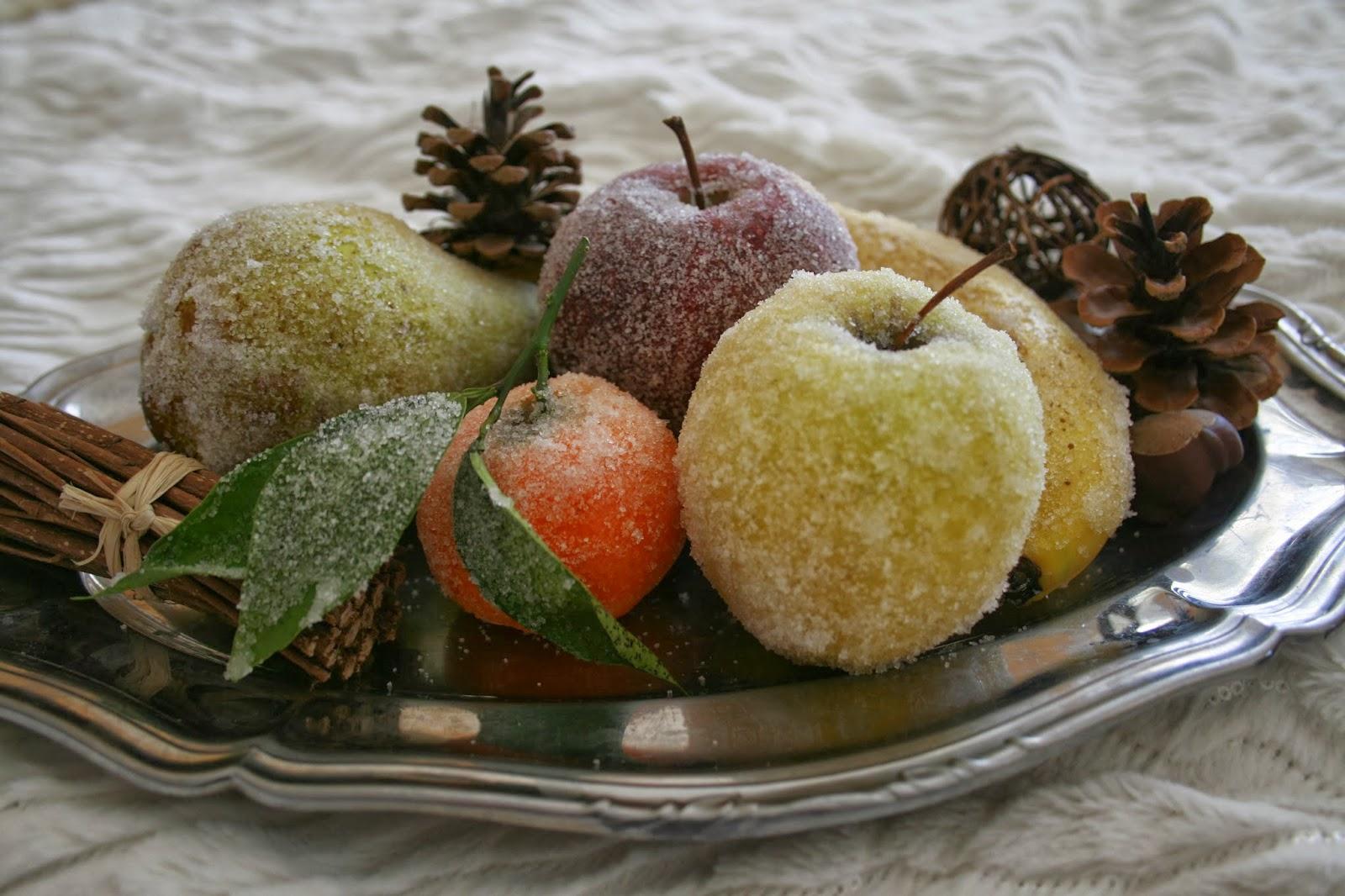 La gourmandise est un agr able d faut fruits givr s - Corbeille de fruits maison du monde ...