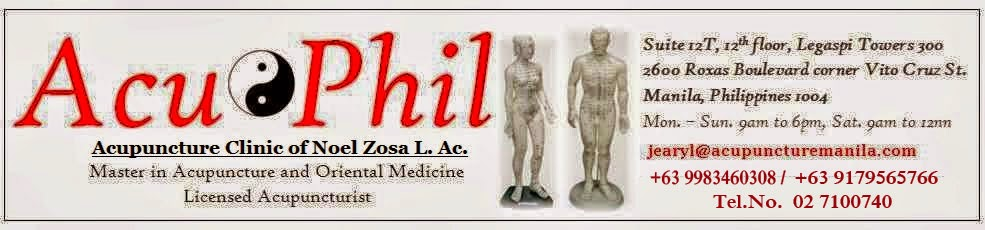 Welcome to AcuPhil Acupuncture Clinic - Acupuncture in Manila Philippines with Noel Zosa L.Ac.
