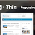 Thin Responsive Blogger Templates v.1.1 - Blogger Theme