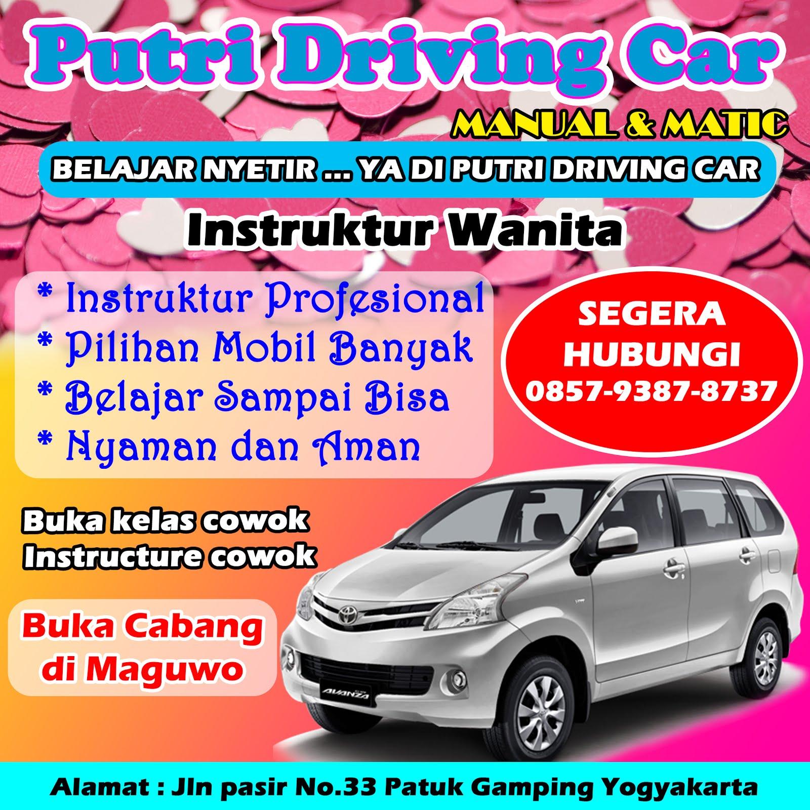 PUTRI DRIVING CAR