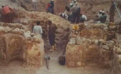 Reruntuhan kamar rasul saw dan sayyidah khadijah as