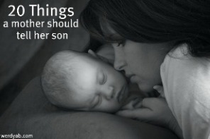 "Author of ""20 Things a Mother Should Tell Her Son"""