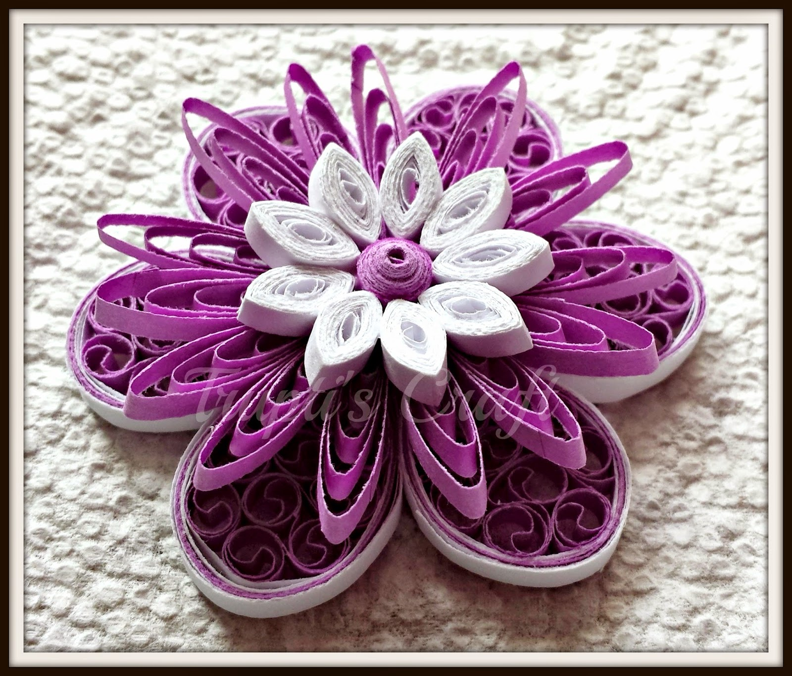 Truptis Craft Paper Quilling Flowers