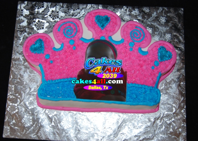 Cakes 4 All In Dallas Cut Out Cakes Crown Red Boxbikini Fleur De Lis