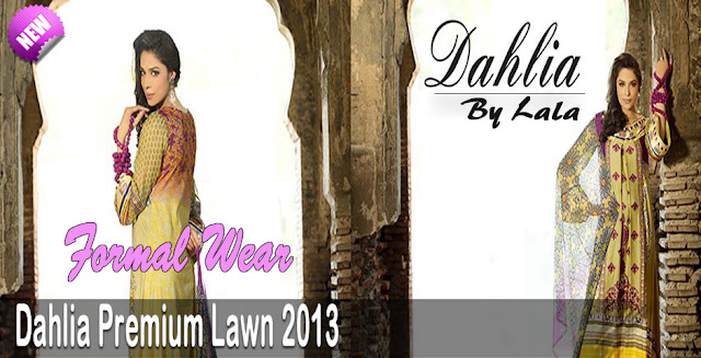 Dahlia Lawn 2013 By Lala Textiles Summer Collection
