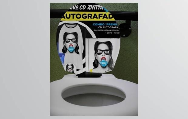 Bang de Anitta agora para seu banheiro