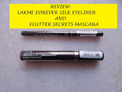 REVIEW: Lakme Absolute Flutter Secrets Mascara and Forever Silk Eyeliner image