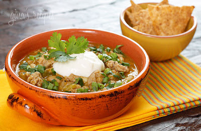 Top 20 Recipes for Slow Cooker Pumpkin Chili featured on SlowCookerFromScratch.com