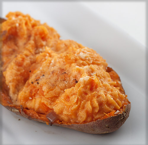 The Nesting Project: Twice Baked Sweet Potatoes