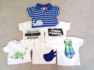 Week of baby onesies