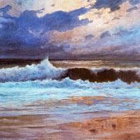 'Efecte de lluna en el mar (José Salís Camino)'