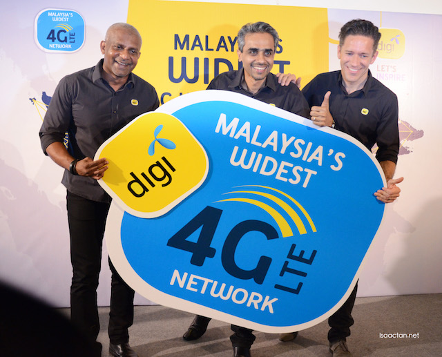DiGi Malaysia LTE Network Drive - Delivering Malaysia's Widest 4G LTE Network