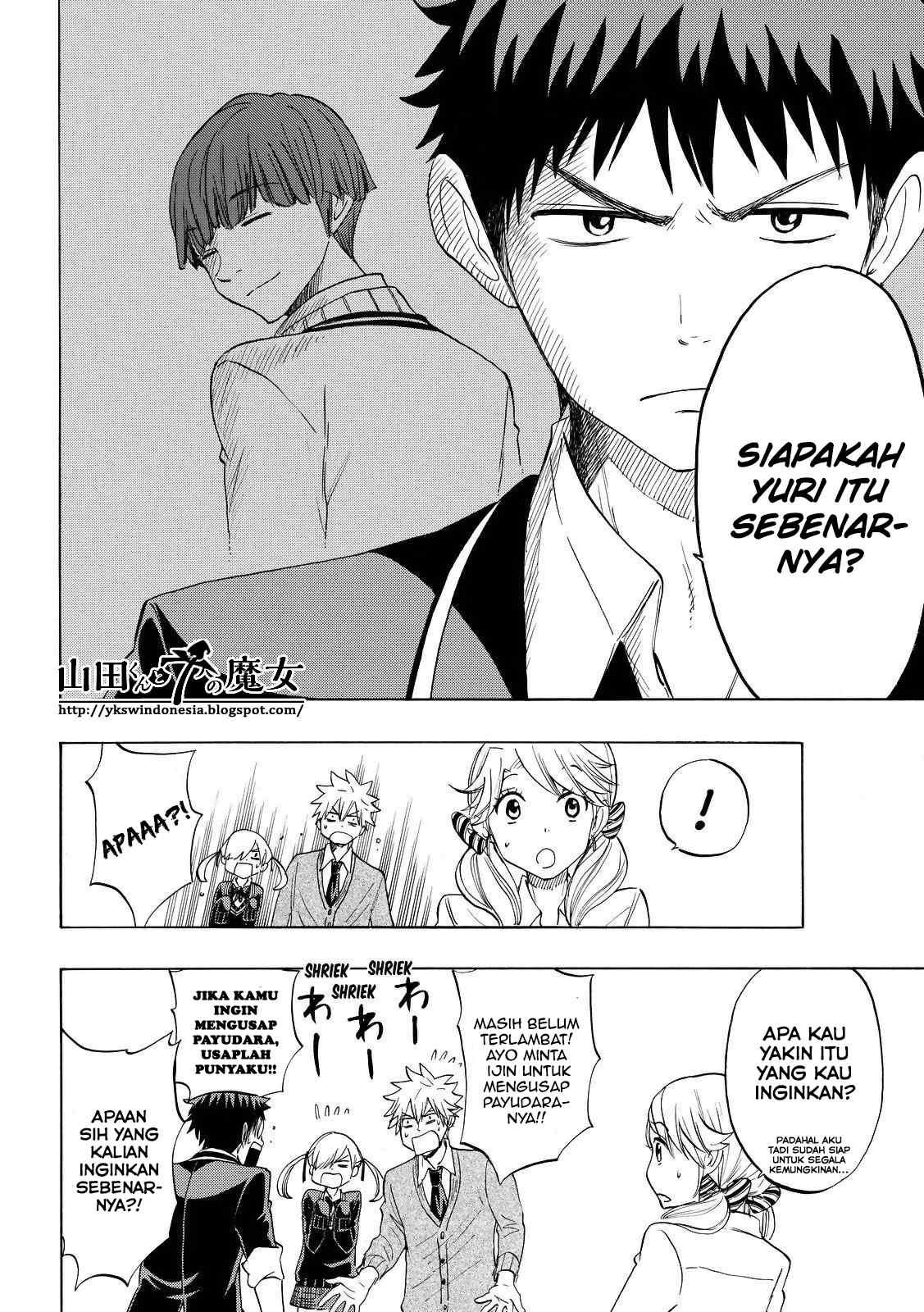 Dilarang COPAS - situs resmi www.mangacanblog.com - Komik yamada kun 7 nin no majo 147 - izin untuk mengusap payudaranya 148 Indonesia yamada kun 7 nin no majo 147 - izin untuk mengusap payudaranya Terbaru 11|Baca Manga Komik Indonesia|Mangacan