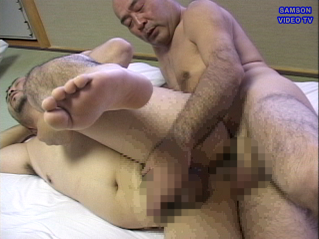 Hairy japanese gay daddy