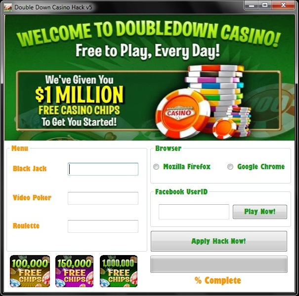 DoubleDown Casino Promo Codes - Instruction For Usage