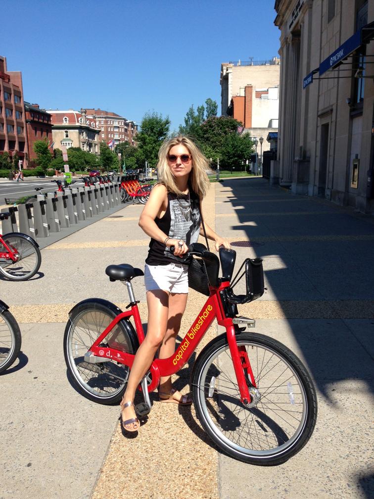 Capital Bike Share Summer Tourist DC