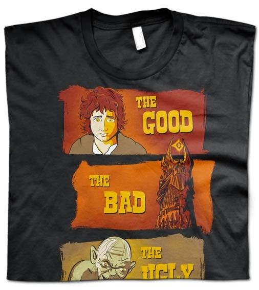 http://www.miyagi.es/camisetas-de-chico/Camiseta-El-senor-de-los-anillos-El-bueno-el-feo-y-el-malo