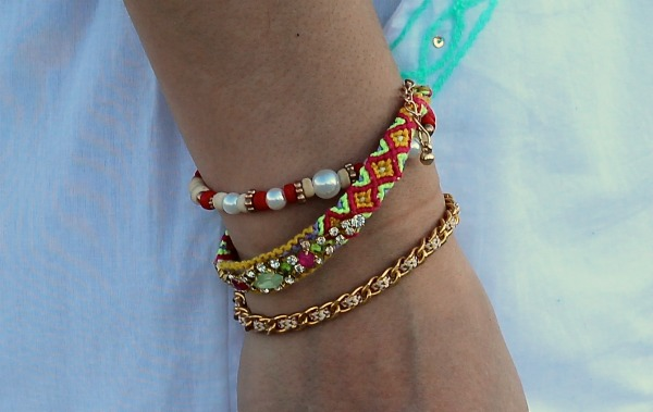 toptop bright beach bracelets