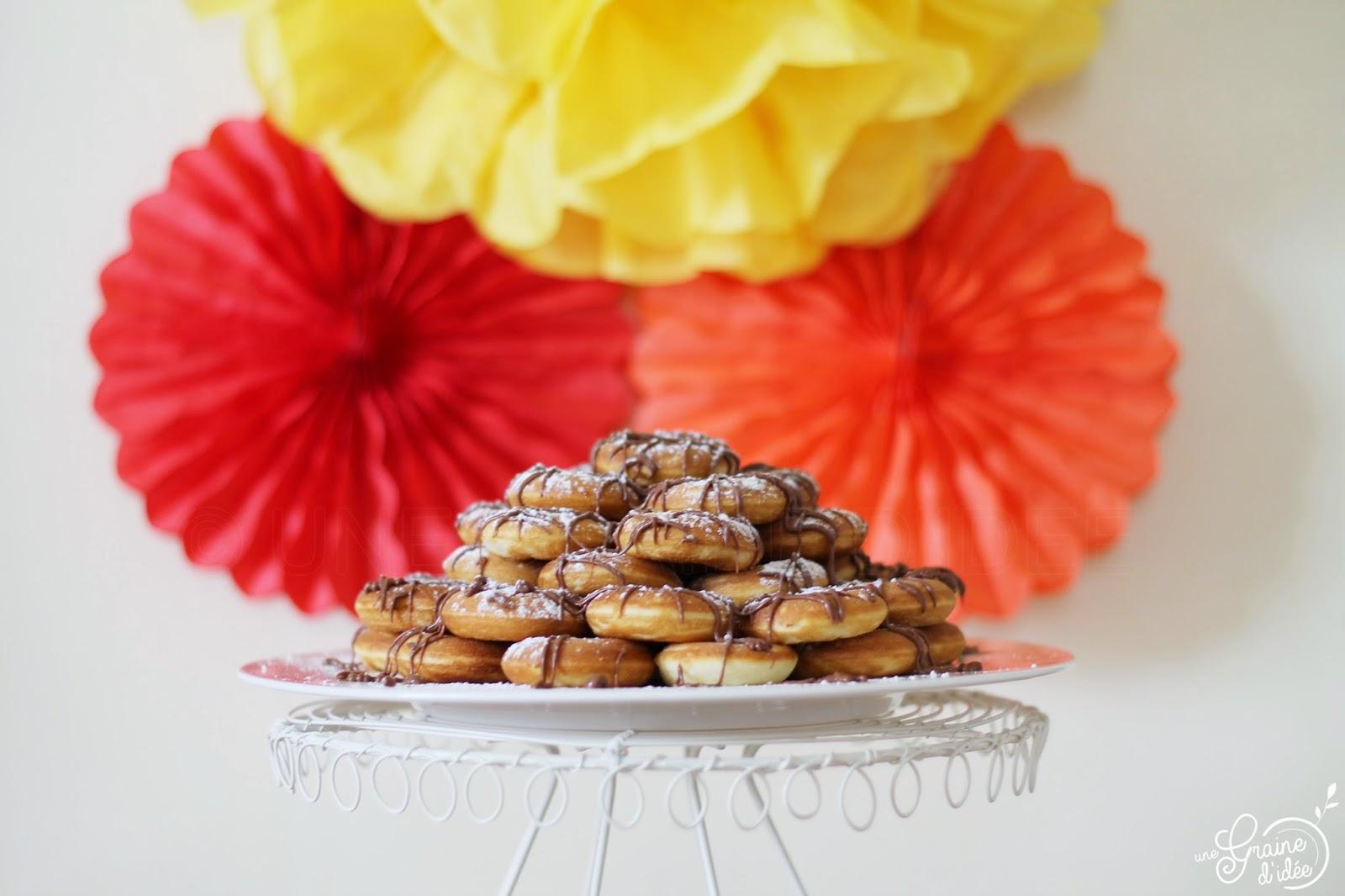 Pyramide de donuts - Une Graine d'Idée