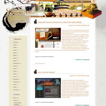 China Heaven on Earth template blog from wordpress. travel blog template. template travel for blog