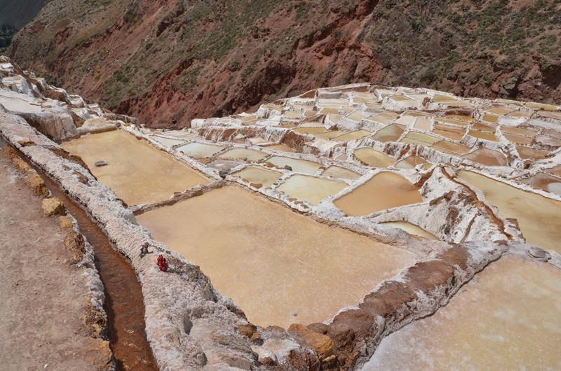 Peru city Marash, The Sacred Valley of the Incan Ruins, located near Cuzco Region of Peru.