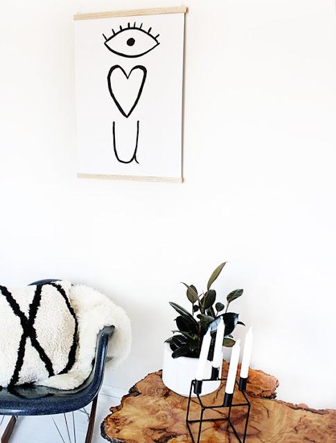 Magnetischer Plakat- und Poster-Rahmen zum Selbermachen – flott und einfaches Design für die Wände!