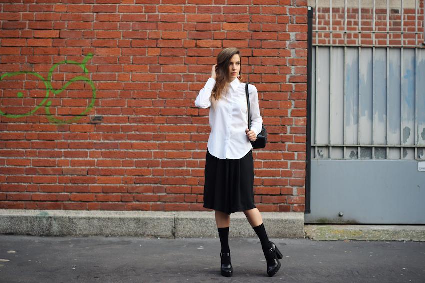 midi skirt pants
