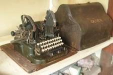 Mesin Tik Oliver  5 patd 8 Desember 1908