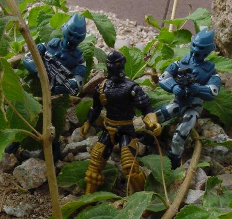 1997 Bronze Bombers, Olmec Toys, Crazeblaze, Darklon, 1989 Python Patrol Viper, 1988 Iron Grenadiers, 1989 Wild Boar, 2002 Alley Viper, Viper, Tomahawk, Sgt. Stalker, Torpedo, Lifeline
