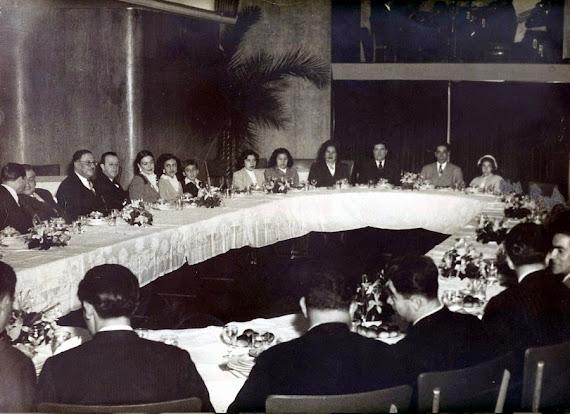 Restaurante Témel, donde el profesor Narváez les ofreció una excelente banquete vegetariano