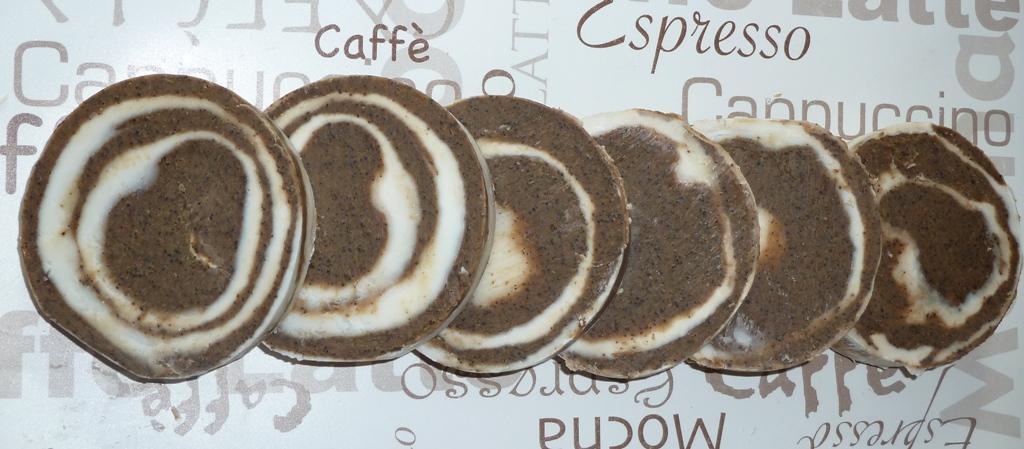 Estela de Jabón: Jabón de Café con Leche