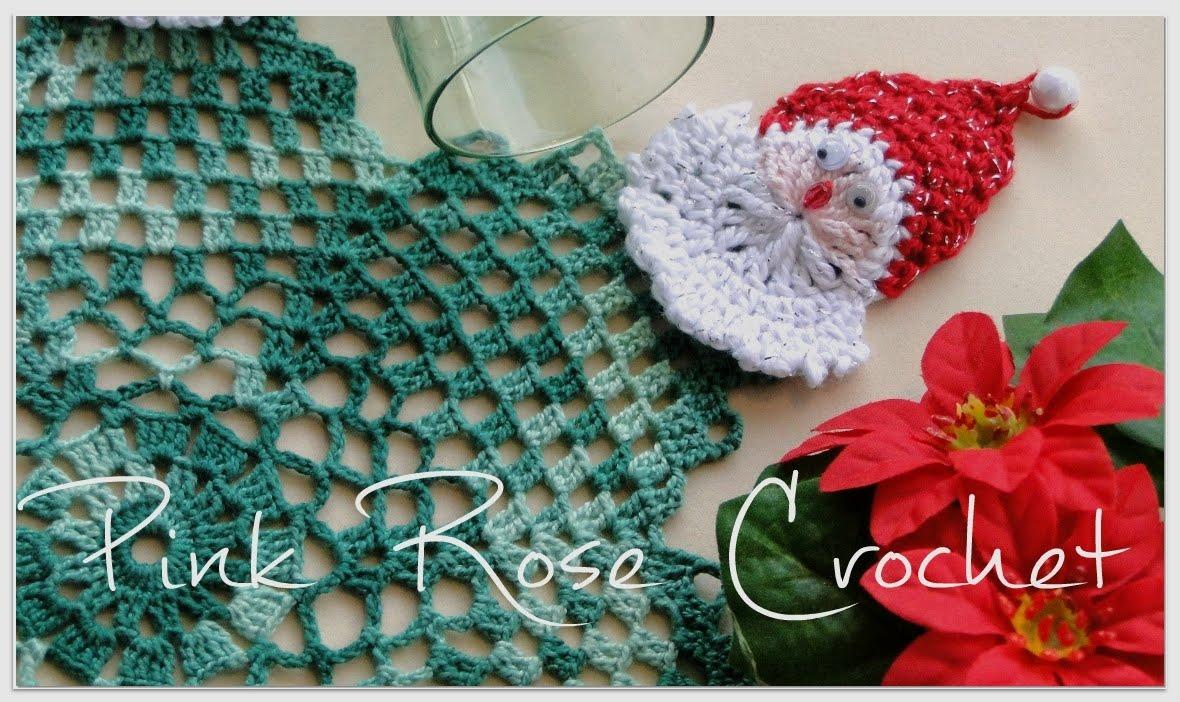 Pink Rose Crochet