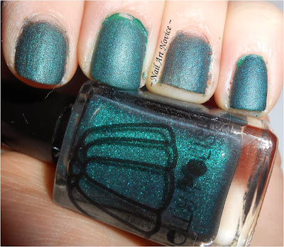 Nelly Polish-Teal Holo