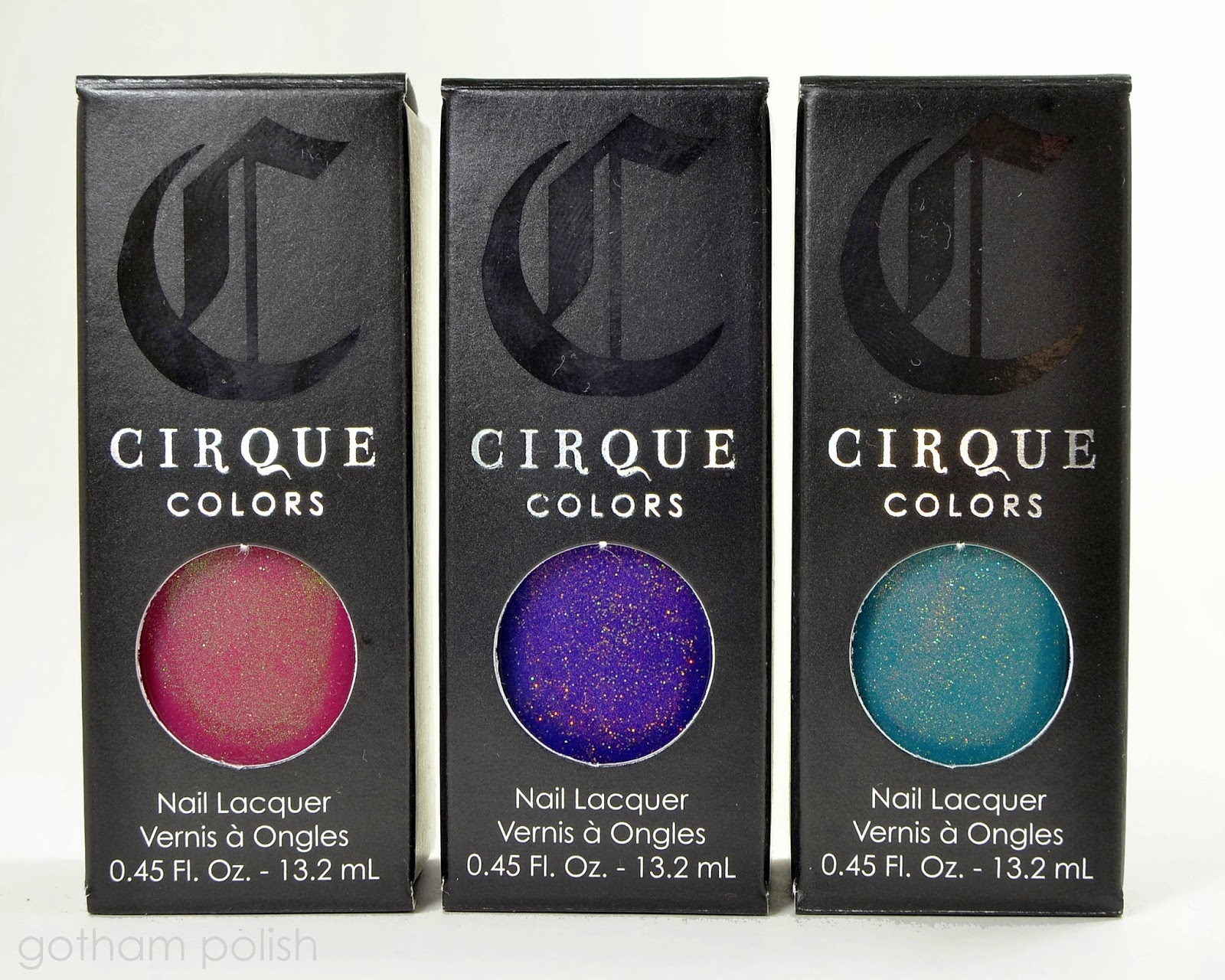 Cirque Colors Kontiki Collection
