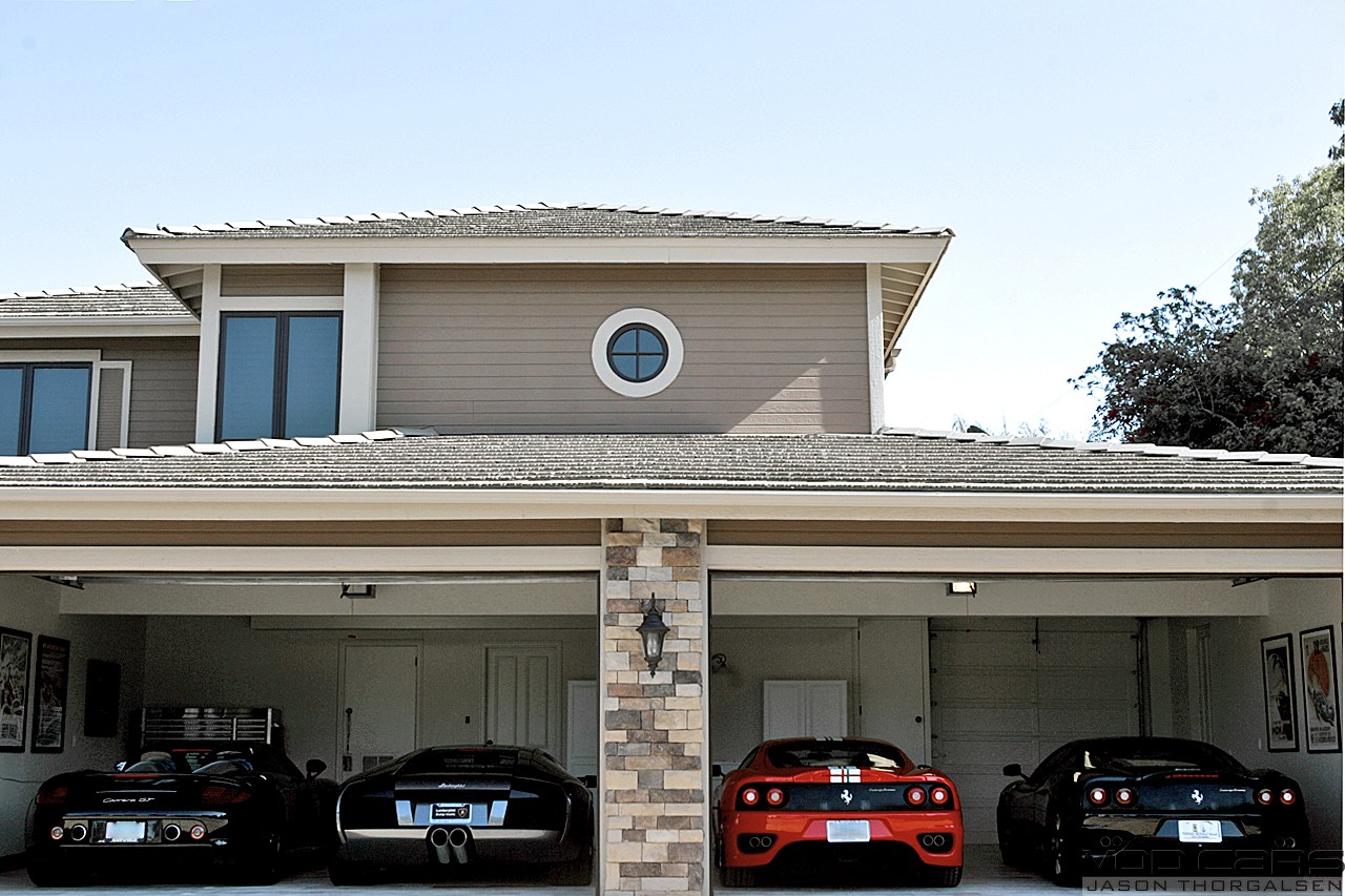 Wicked rides and concepts world s most beautiful garages for House in garage