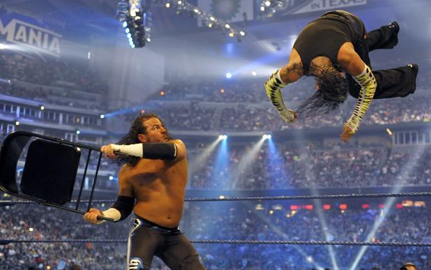 wwe champion 2011 jeff hardy vs matt hardy