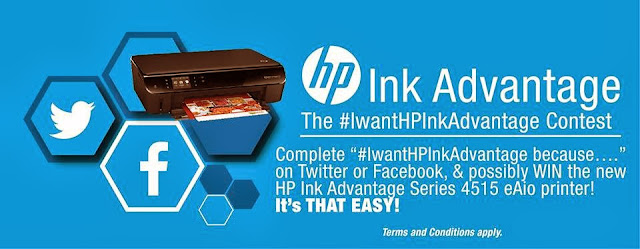 HP Launches #IwantHPInkadvantage Hashtag Contest