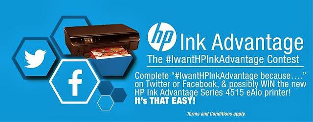HP Launches #IwantHPInkadvantage Hashtag Contest